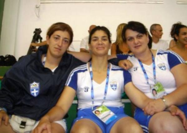 Θρύλος η προπονήτριά μας, η αθλήτρια με τα περισσότερα μετάλλια